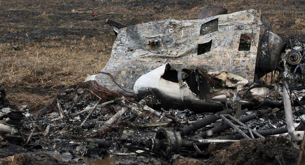 تحطم مروحية مي-2 (صورة ارشيفية)