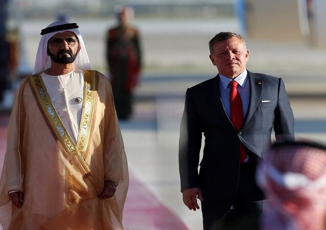 حاكم دبي في الاردن