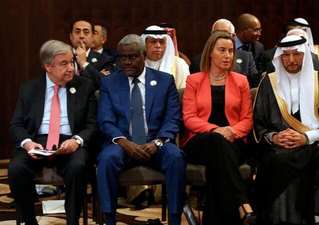 أنطونيو غوتيرس في القمة العربية