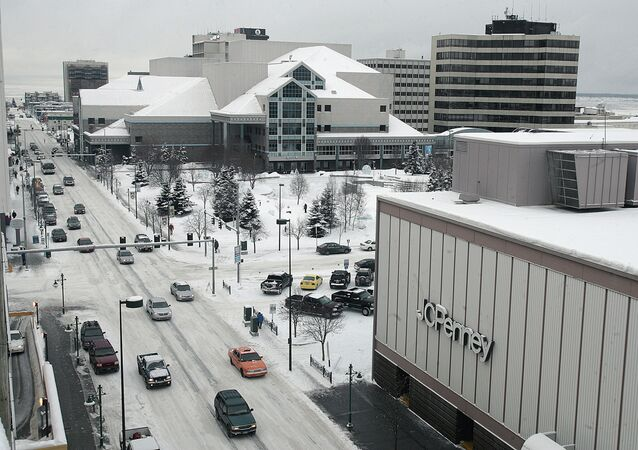 مدينة انكوريج في ألاسكا