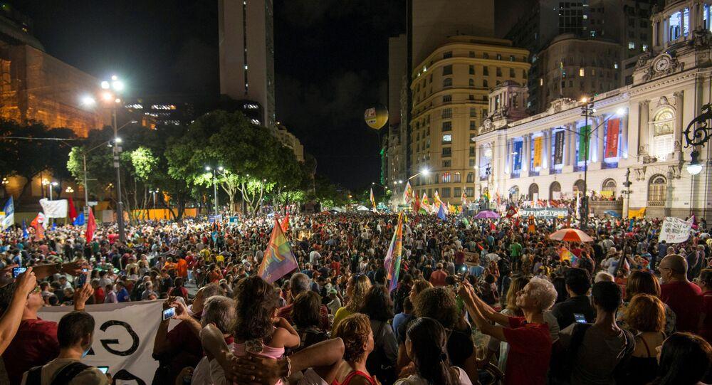 احتجاجات البرازيل