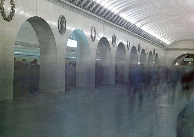 محطة  تكنلوجيسكي انيستيتوت  في سان بطرسبورغ