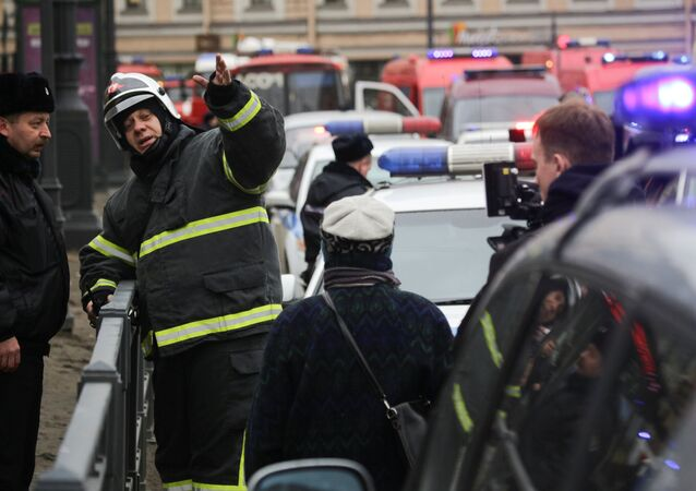 انفجار في مترو الأنفاق بمدينة سان بطرسبورغ