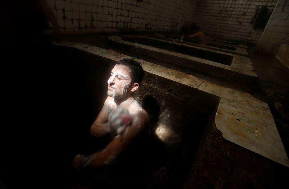 حمام عين العليل جنوب الموصل، 3 أبريل/ نيسان 2017