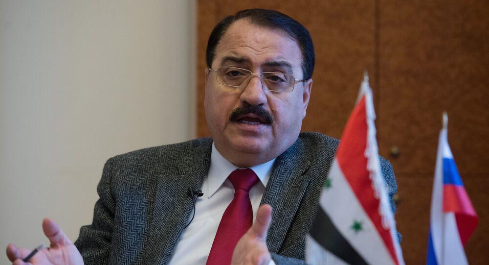 السفير السوري لدى روسيا رياض حداد