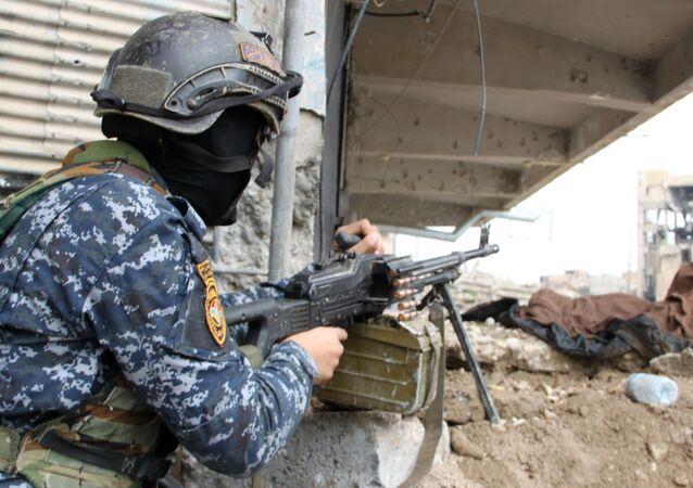 عسكري عراقي في الموصل