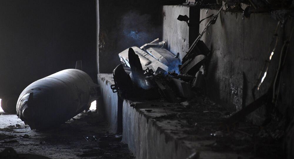 الضربة الصاروخية الأمريكية على مطار الشعيرات