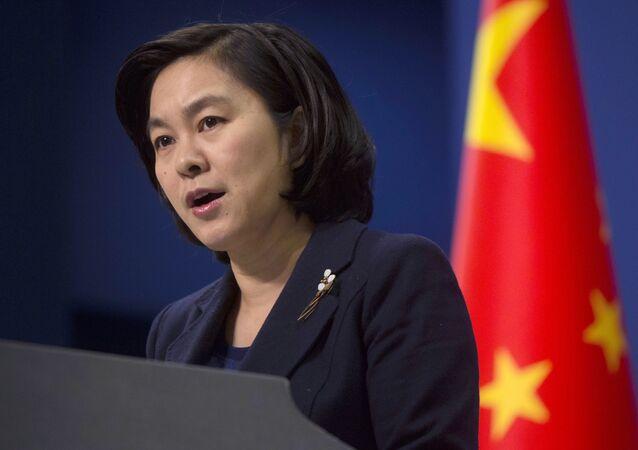 المتحدثة باسم وزارة الخارجية الصينية هوا تشونينغ