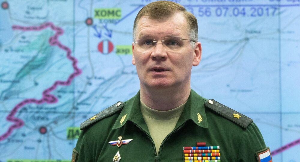 المتحدث الرسمي باسم وزارة الدفاع الروسية إيغور كوناشنكوف