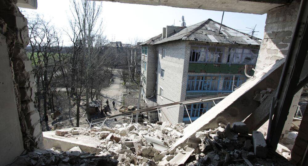 الوضع في دونيتسك، أوكرانيا