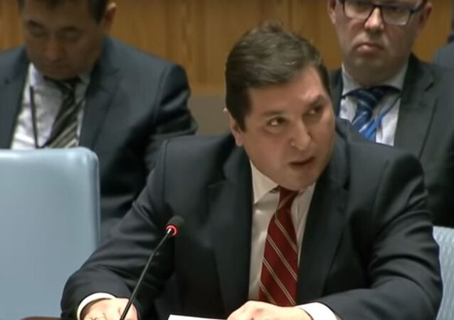 السفير الروسي لدى الأمم المتحدة فلاديمير سافرونكوف