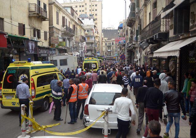 تفجير إرهابي مصر (صورة أرشيفية)