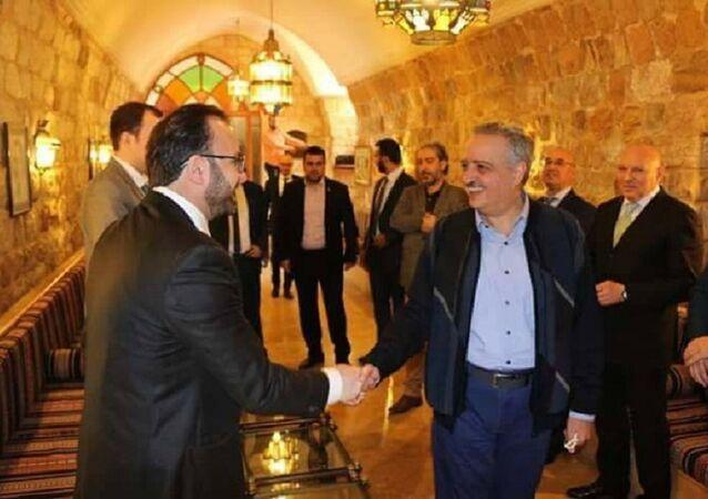 وزير المهجرين ورئيس الحزب الديمقراطي اللبناني