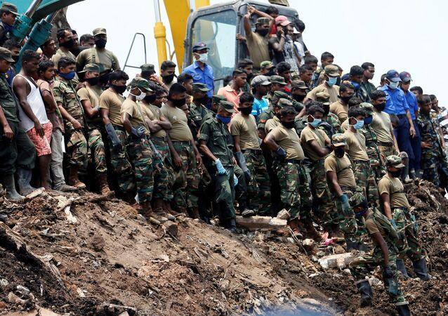 انهيار سريلانكا
