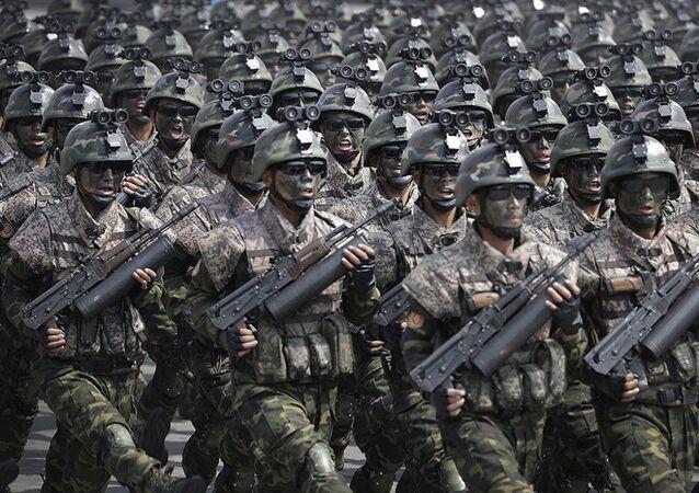 الجيش الكوري الشمالي