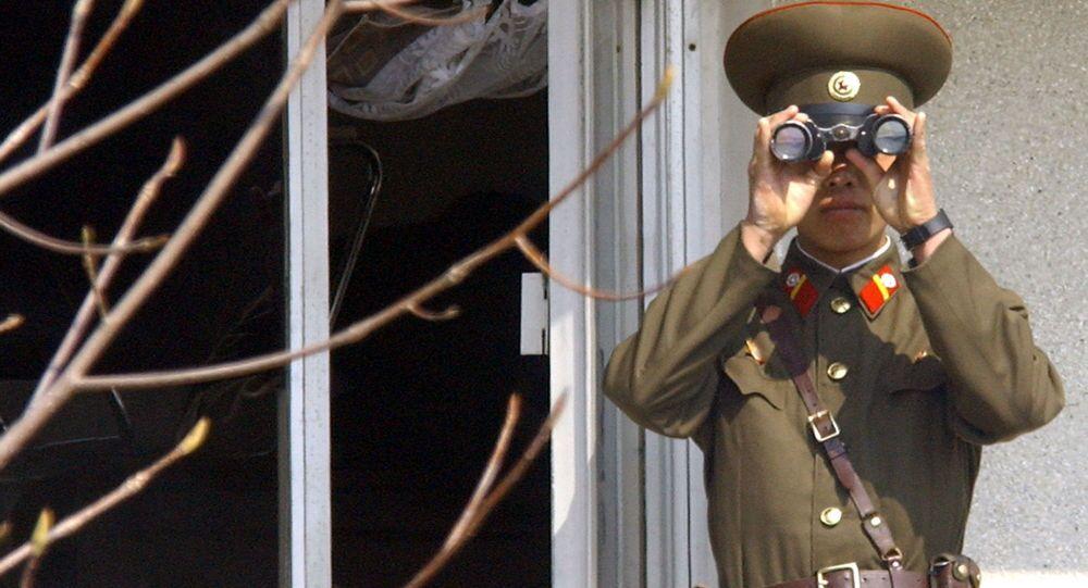 جندي كوري شمالي