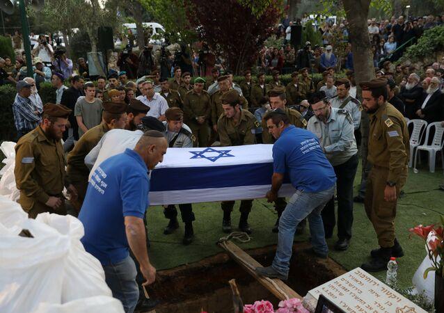 جنازة جندي إسرائيلي