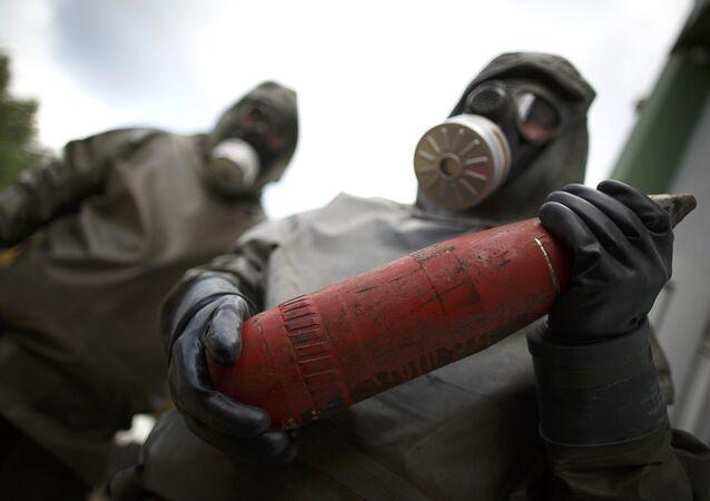 تدمير الأسلحة الكيميائية