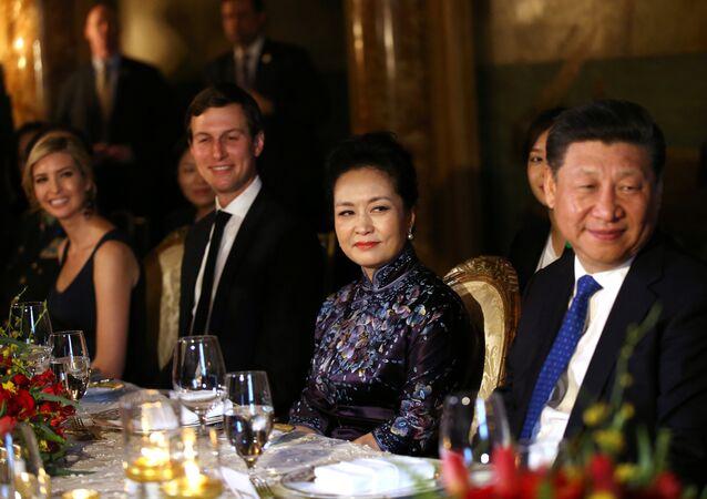 إيفانكا ترامب في عشاء الرئيس الصيني