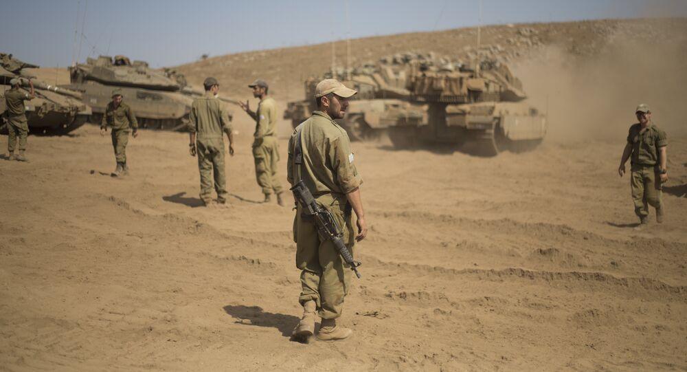 الجيش الإسرائيلي في الجولان