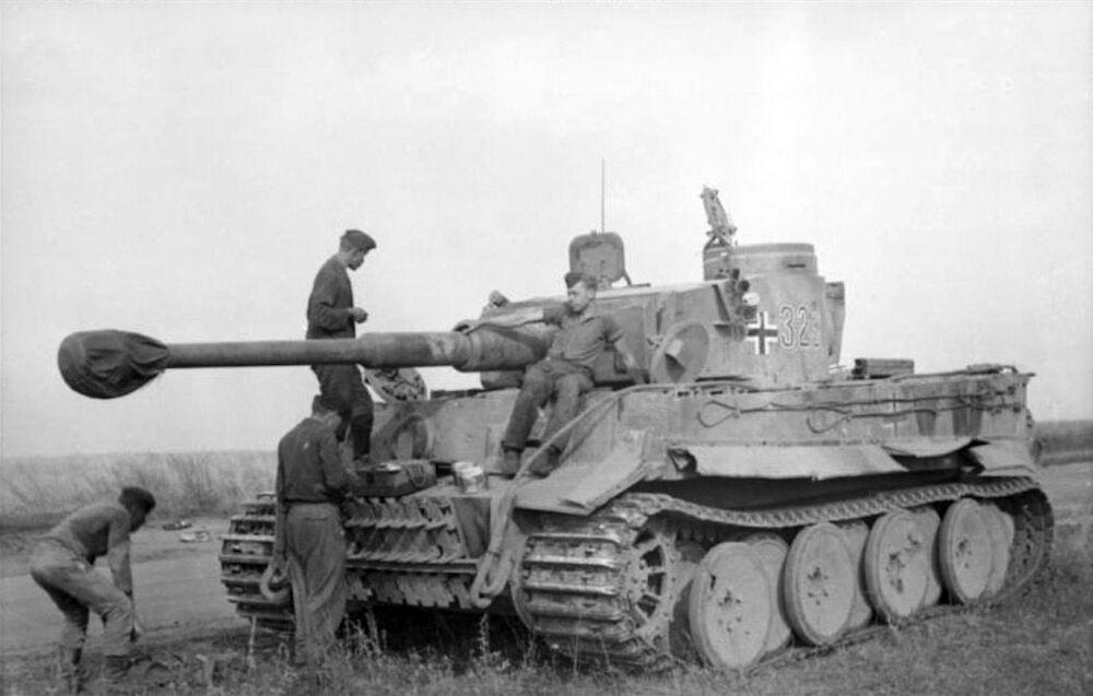 الدبابة السوفيتية تيغر (النمر)