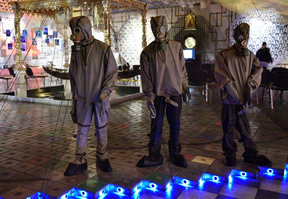 متحف تشيرنوبيل الوطني في مدينة كييف، أوكرانيا