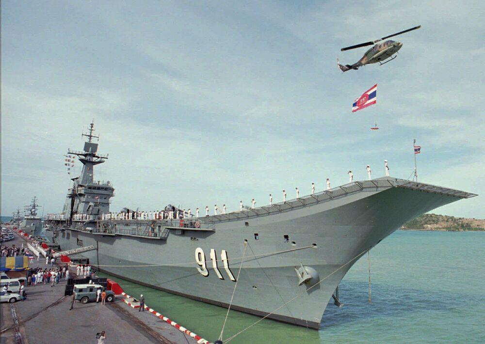 حاملة الطائرات التابعة لتايلاند تشاكري نارويبيت جنوب بانكوك، 10 أغسطس/ آب 1997