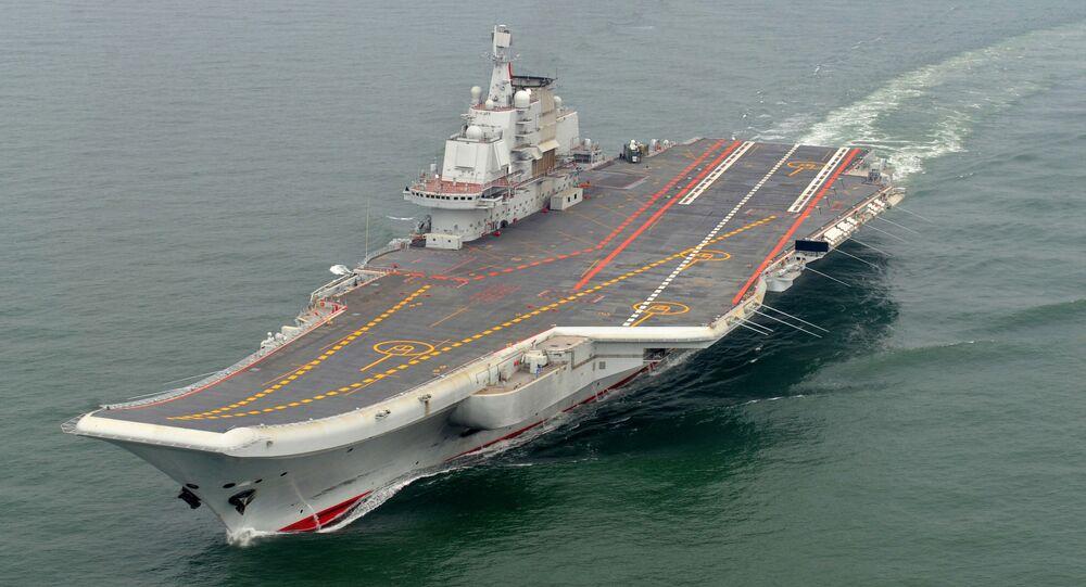 حاملة طائرات صينية