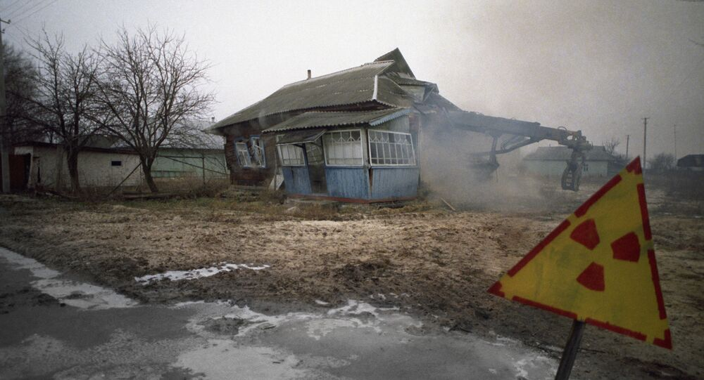 كارثة تشيرنوبيل - بعد الكارثة مدينة بريبيات تتحول إلى منطقة مهجورة