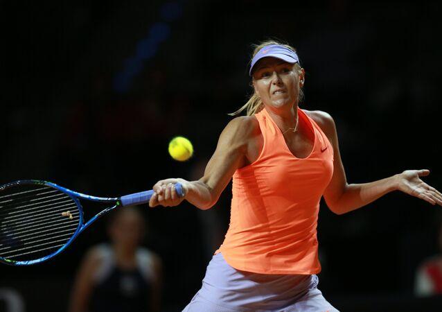 لاعبة تنس الروسية ماريا شارابوفا