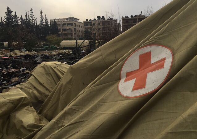 المستشفى العسكري الروسي التابع لوزارة الطوارئ الروسية