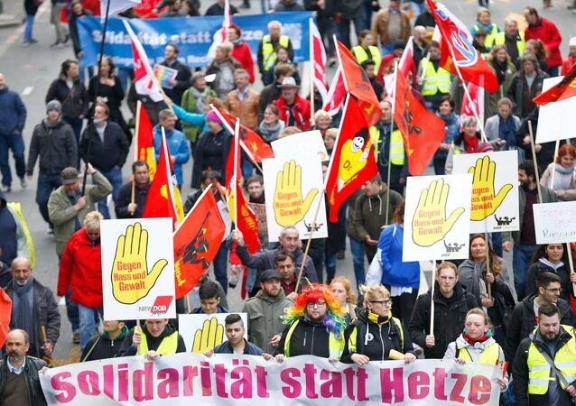 مسيرة لأنصار حزب البديل من أجل ألمانيا