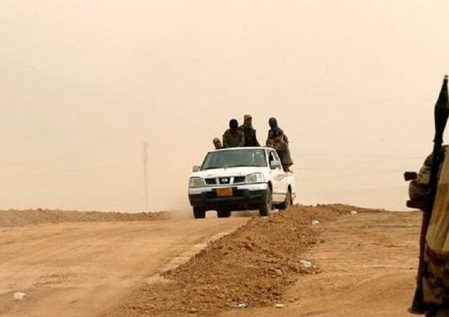 مقاتلون أكراد على خط المواجه مع تنظيم داعش