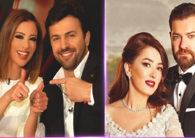 زواج الفنان السوري تيم حسن، بالإعلامية وفاء الكيلاني