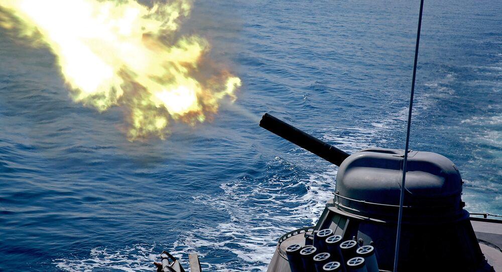 تمرين الأسطول الروسي في المحيط الهادئ