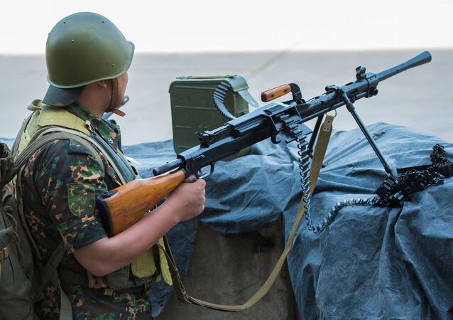 مدفع رشاش روسي