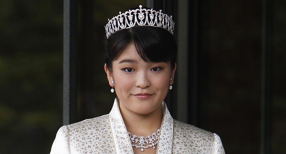 الأميرة ماكو، حفيدة الإمبراطور الياباني