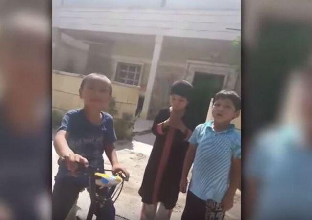 الصينيون في مدينة إدلب