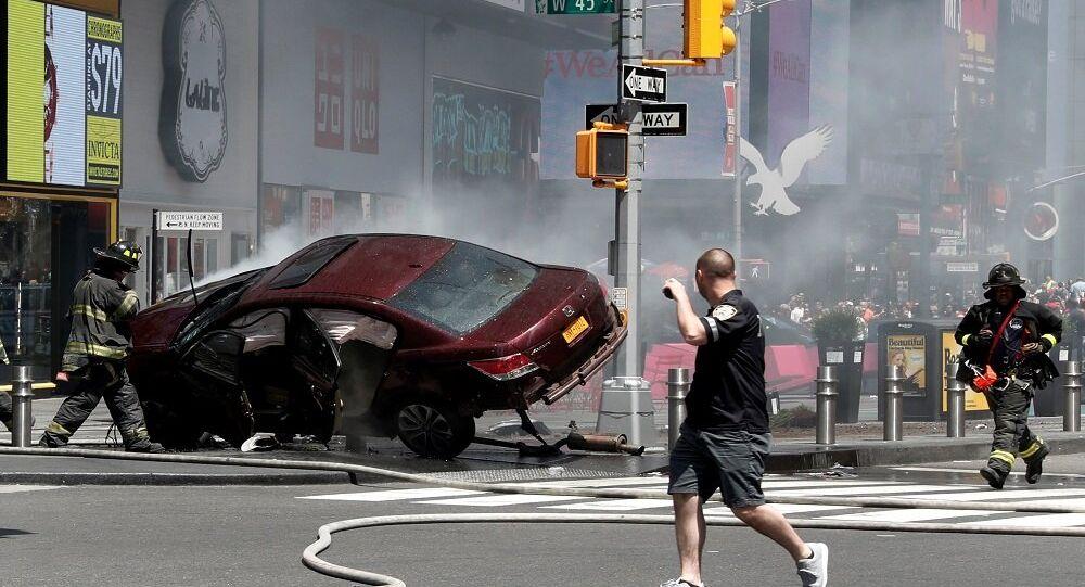 حادثة دهس نيويورك