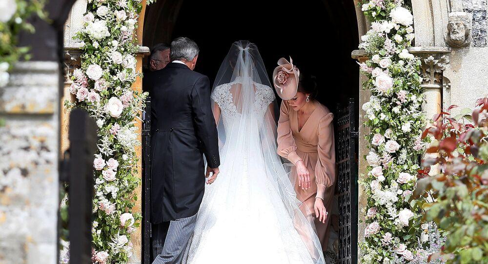 حفل زفاف شقيقة كيت ميدلتون