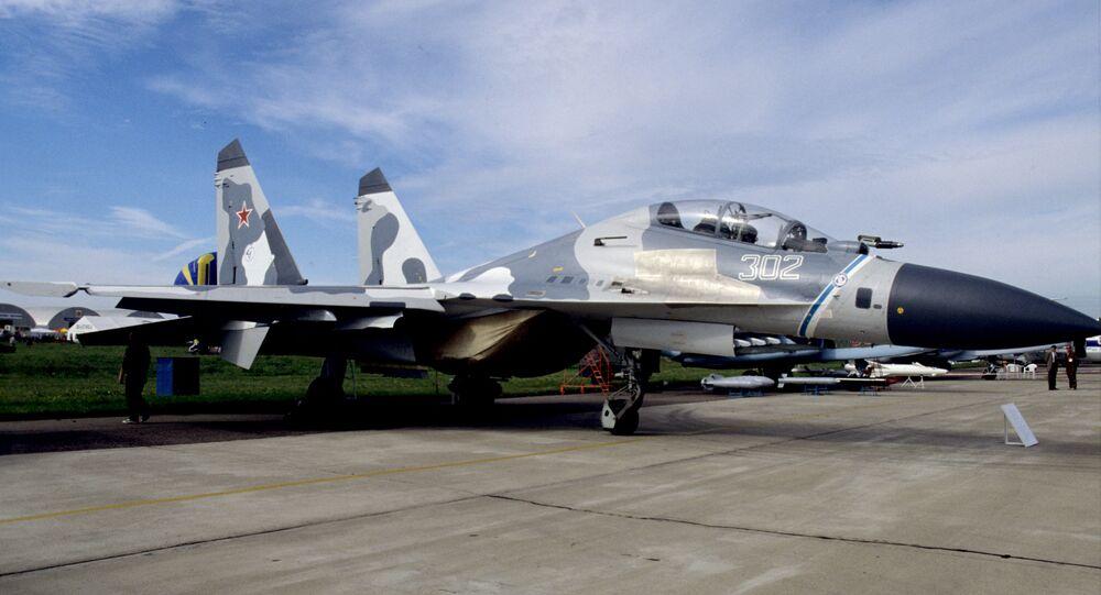 Su-30M fighter