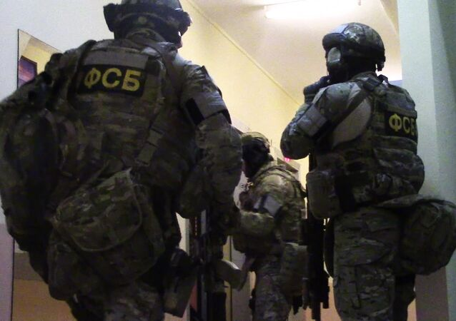 أفراد هيئة الأمن الفيدرالي الروسي