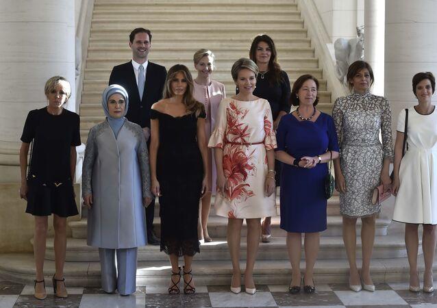 زوجات زعماء الناتو