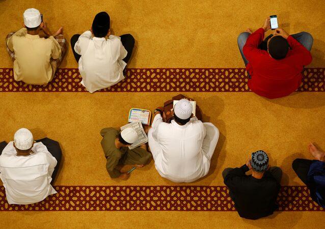 صلاة تراويح في رمضان