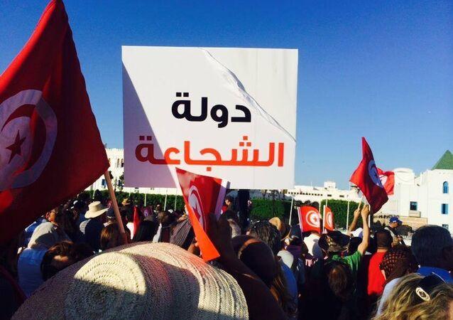 مظاهرات في تونس لدعم عملية الأيادي النظيفة