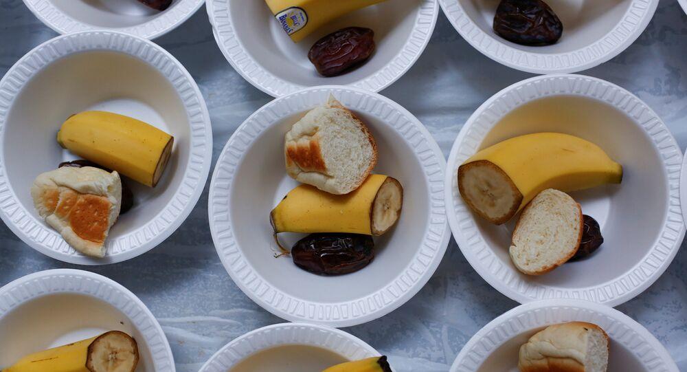مائدة إفطار رمضانية في نيويورك