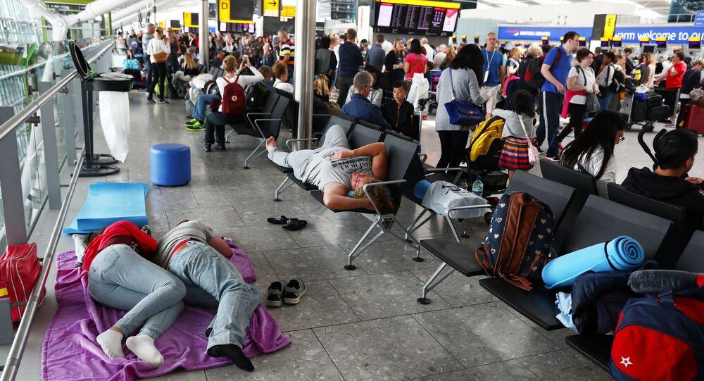 تعطل الرحلات في مطار هيثرو