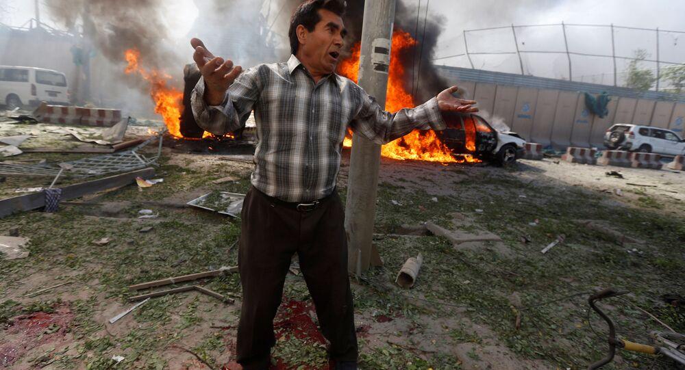 انفجار في كابول، أفغانستان(أرشيفية)