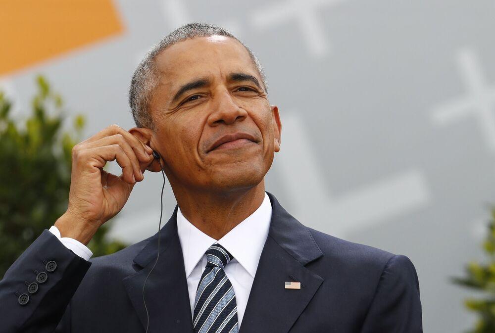 الرئيس الأمريكي السابق باراك أوباما