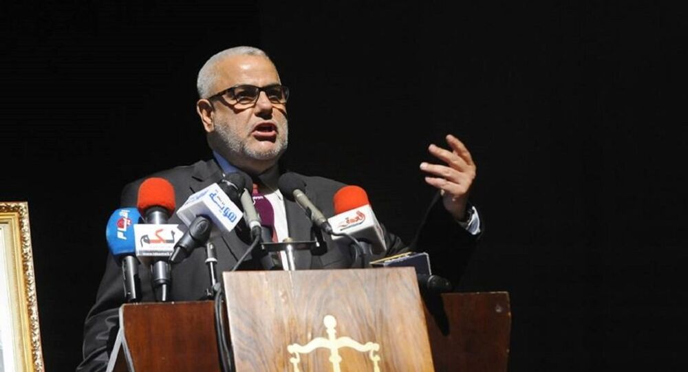 رئيس الوزراء السابق وزعيم حزب العدالة والتنمية المغربي عبد الإله بنكيران